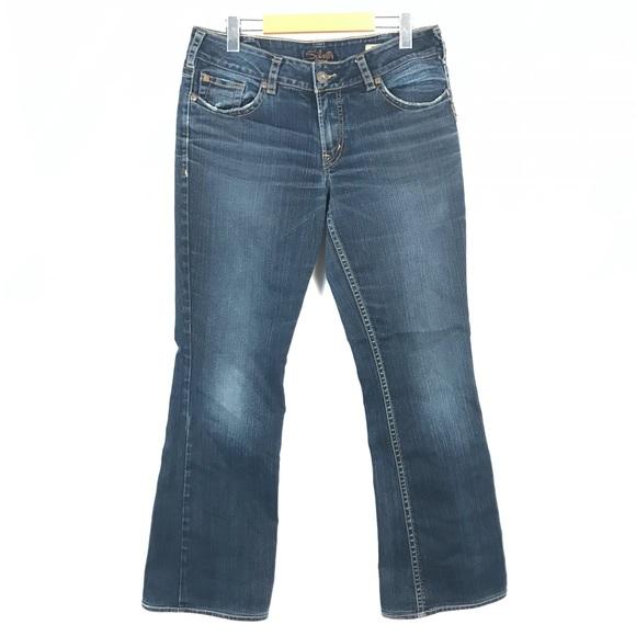 Silver suki bootcut jeans 32x31